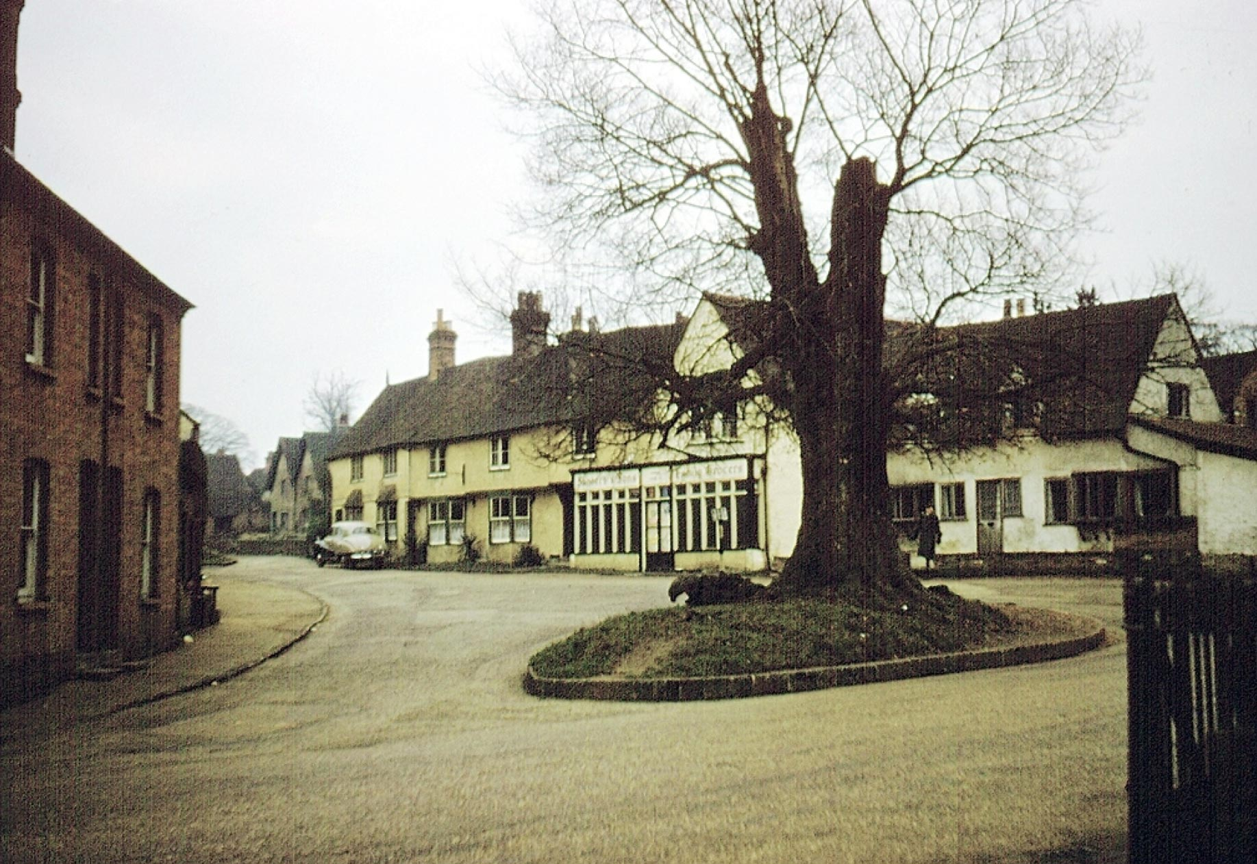 Photo of Shere, the Village c1960, ref. S114035